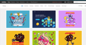 Exploring Dribbble For Social Media Marketing